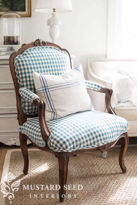 Make it your own lexington furniture bergere chair - Mustard seed interiors ...