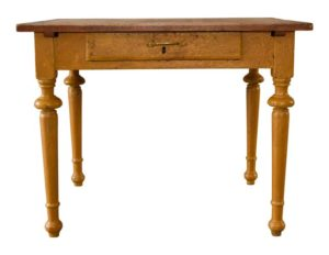 Restored Mid-1800 Farm Table from Quebec