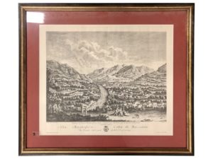 Antique Print of Bassano, Italy