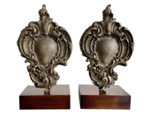 Decorative Gilded Wood pieces, Pair