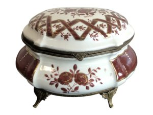 French Porcelain Covered Box