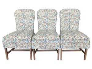Lee Industries Dining Chairs in KK for Templeton Fabric, Set of 3